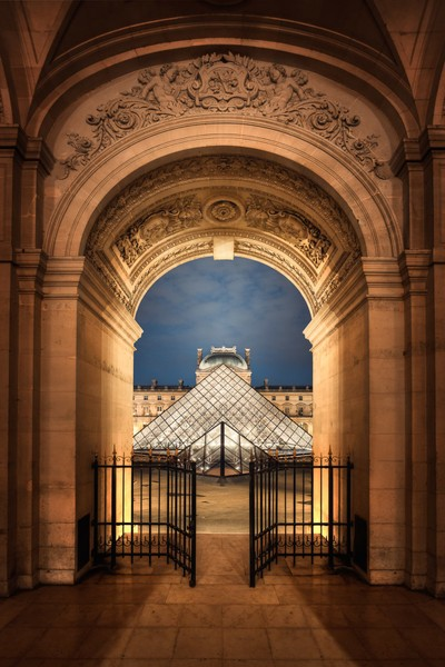 France - The Door is Open at the Louvre