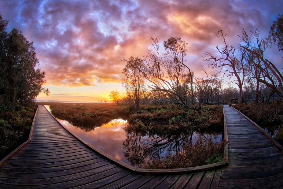 Lake Goegrup Sunrise