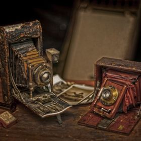 "From my collection of ""cameras that tell a story"". Shot with one light, three fill cards and one flag. Camera used for this shot was a ..."