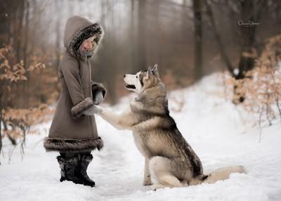 Making winter friends