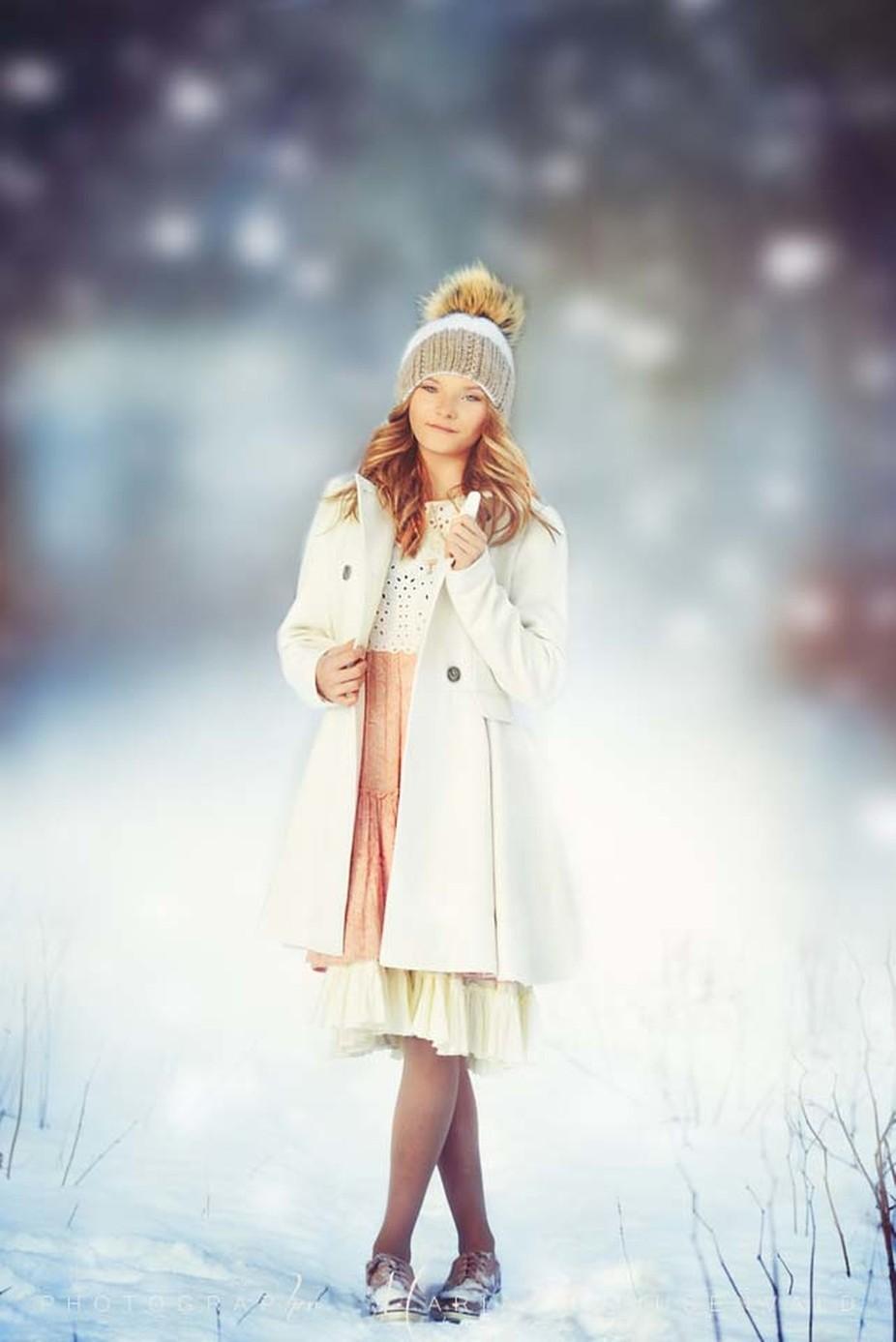 Sandriin by MariaKruusenvald - We Love The Winter Photo Contest