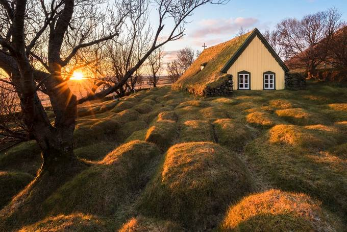 Hofskirkja Turf Church by jamesrushforth