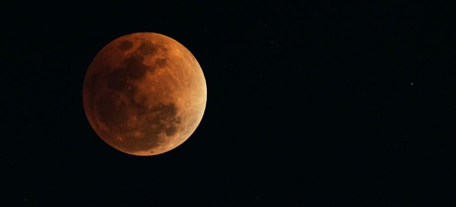Image of Blue Blood Moon taken on 31 Jan 2018.