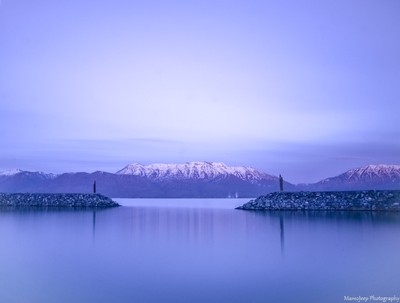 Long Exposure Evening Lake