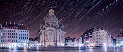 inner city of Dresden (Germany)