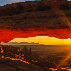 Sunrise at Mesa Arch, Canyonlands National Park UT