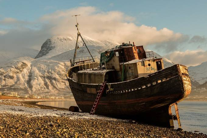 Abandoned on Loch Linnhe 2018 by RonTear - Abandoned Photo Contest