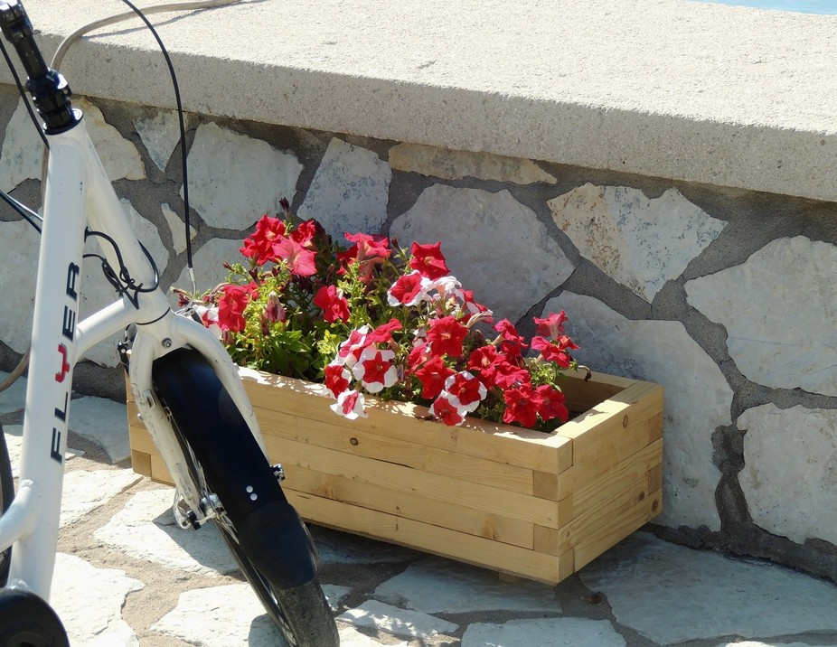 This was on a Cycle and Sail tour on the Ionian Islands - one of the most relaxing vacations ever.