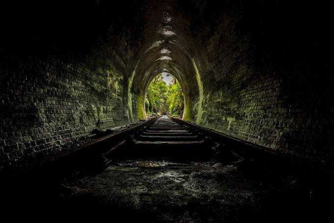 Old Helensburgh Railway Station by Kentaroo - Shooting Tunnels Photo Contest