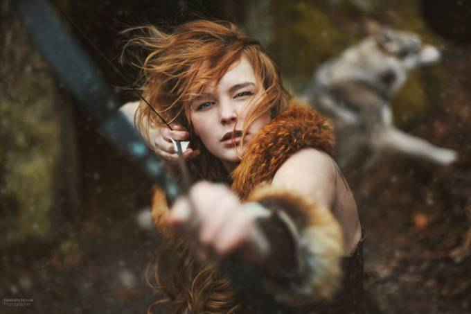 Ygritte by MarketaNovak - Creative Reality Photo Contest