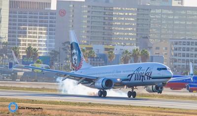 """""""Alaska Airlines Lands"""""""
