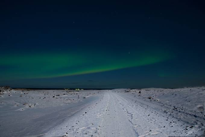 Northern Lights 5 by pacocruz - Winter Roads Photo Contest