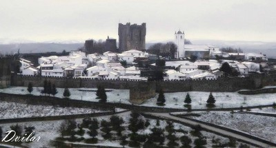 Castle of Bragança - Portugal