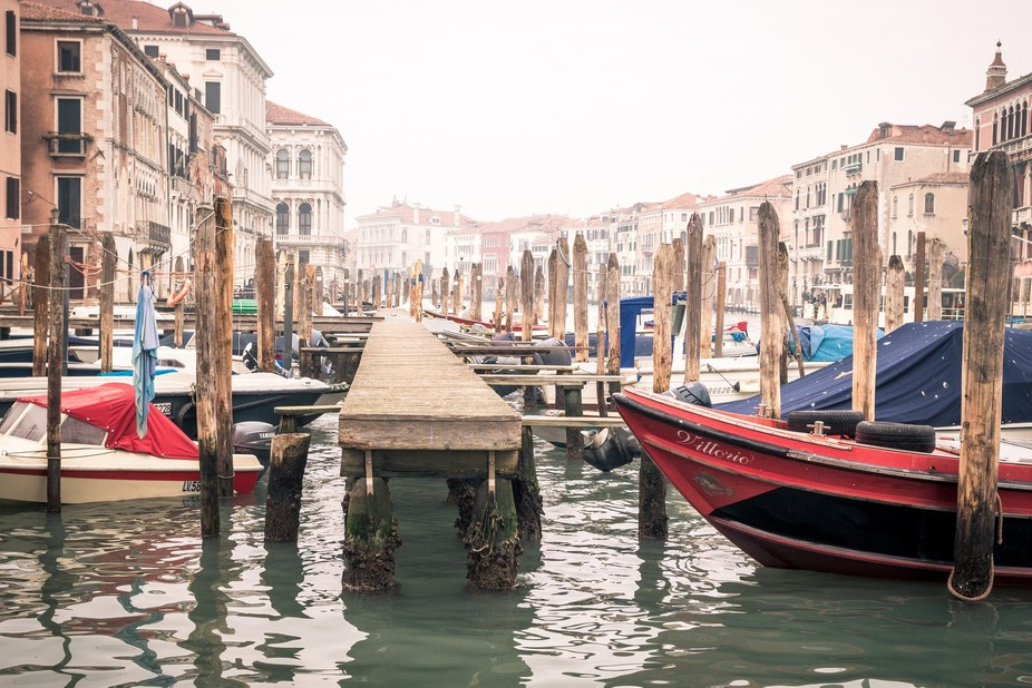 The last weekend of Januari 2018 in Venice