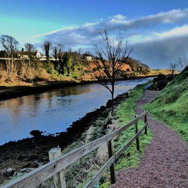 Doon aside the River Brora