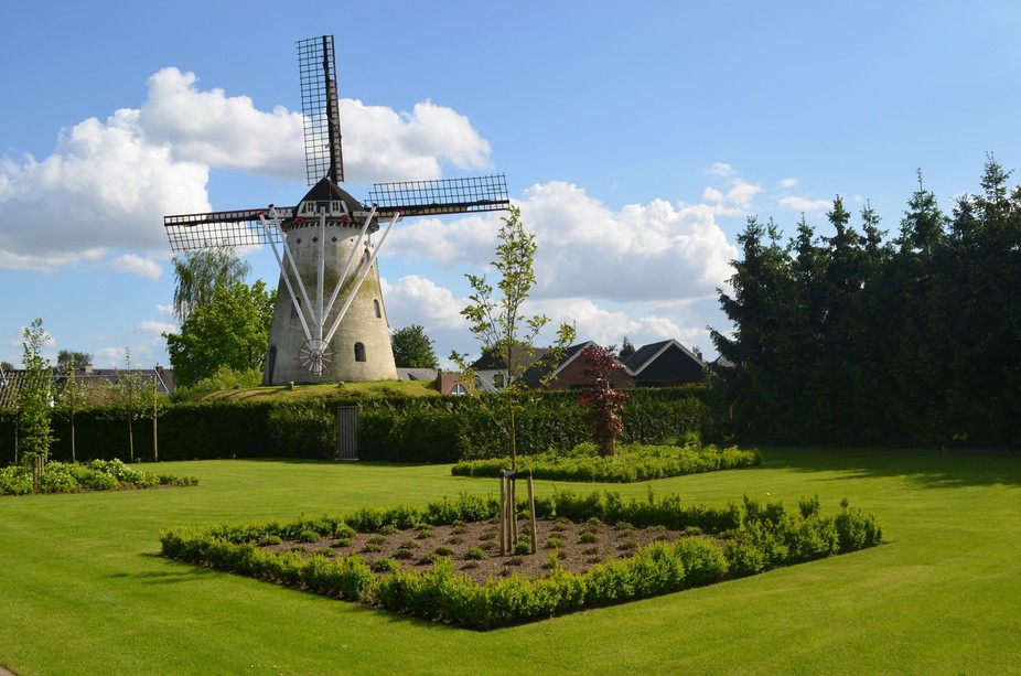 Oldest Windmill 1000 years Netherlands