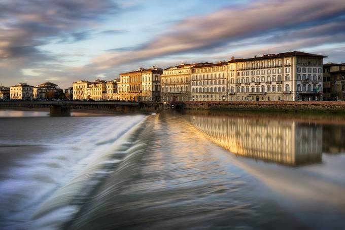 L'arno by giovannivolpe - Sunset And The City Photo Contest