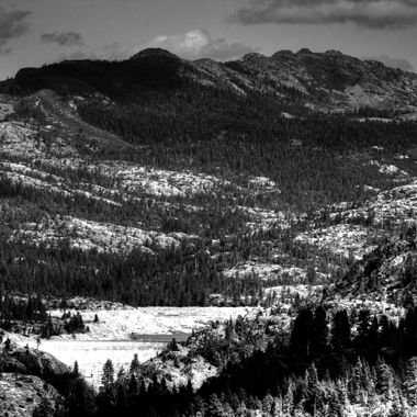 Area where the Donner party tragedy occurred