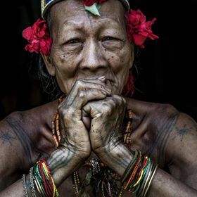 Inside The Life Of The Mentawai Tribe Famous For Their semi-Nomadic Way Of Life. The Mentawai Build Their Hut-Like homes,Known as Umas,Using Bamb...