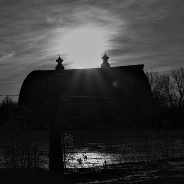Old barn near Roger's corner  Nikon D3400