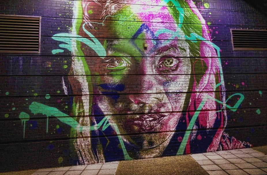 Street Art - Newcastle, NSW, Australia