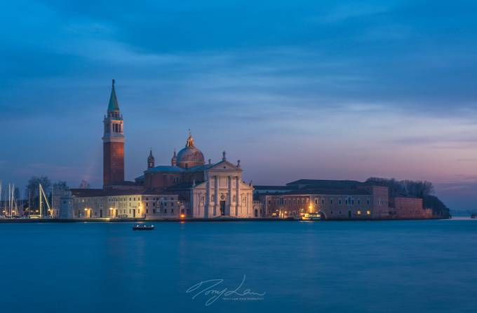 Venice at Dusk by TonyLaw - Sunset And The City Photo Contest