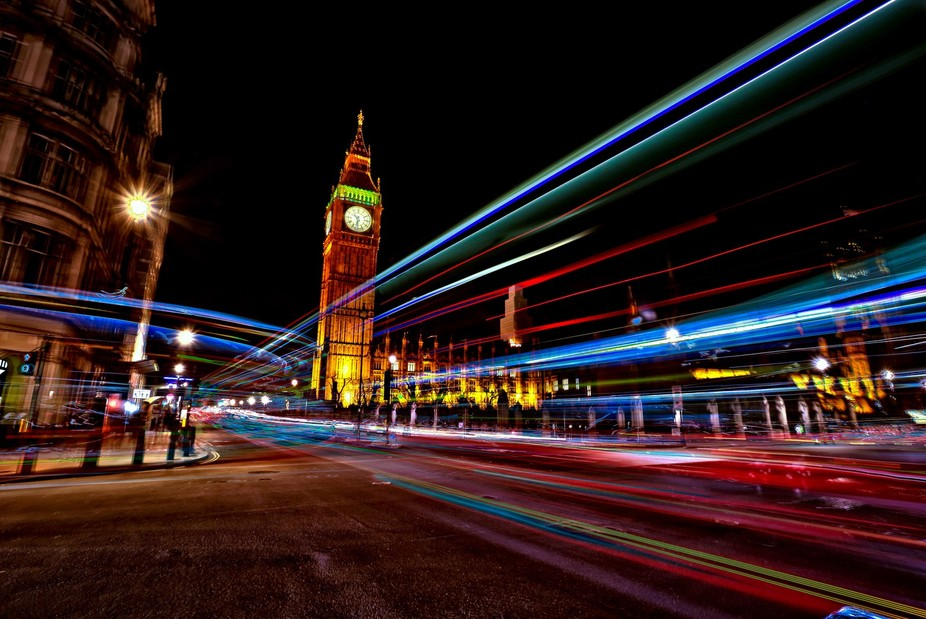 Neon Westminster - London