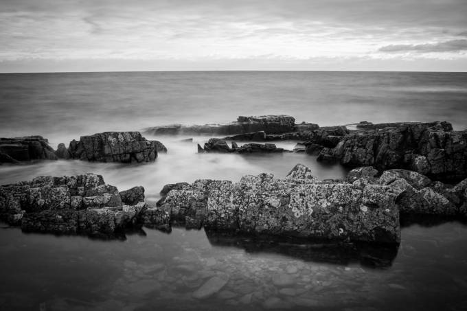 Serenity  by adamblack - The Water In Black And White Photo Contest