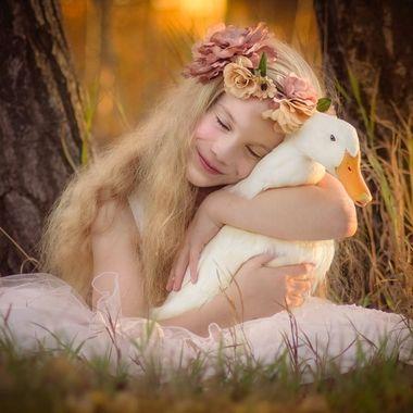Hand raised duckling...turn into loving ducks