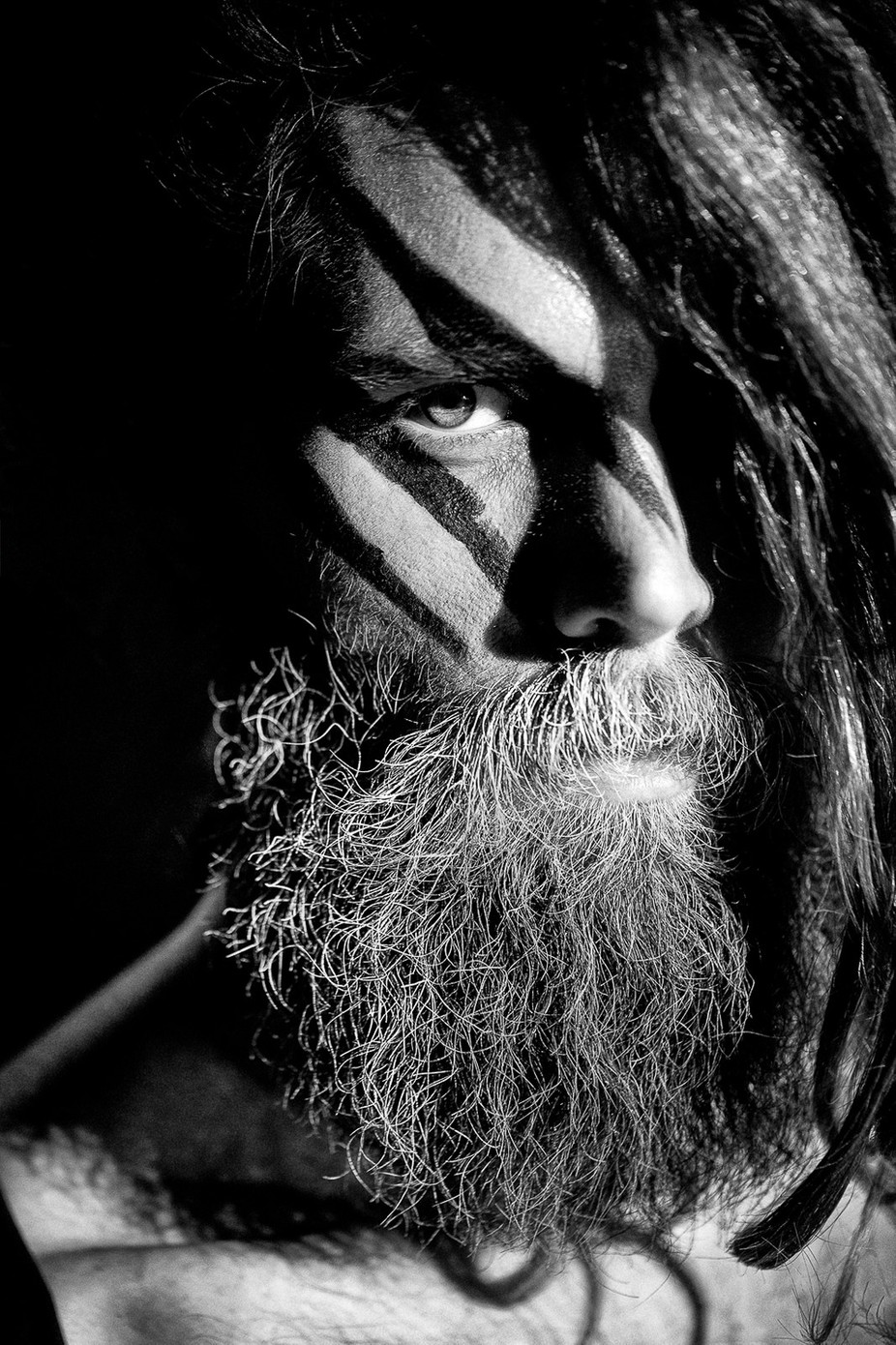 F for Fierce by akapov - Beards and Mustaches Photo Contest