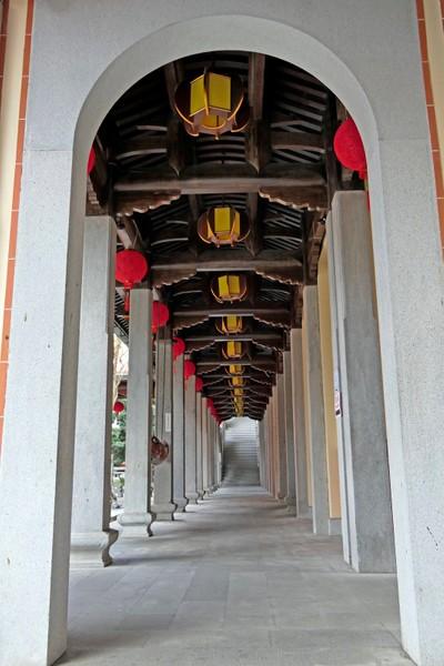 Chinese Arch Doorway