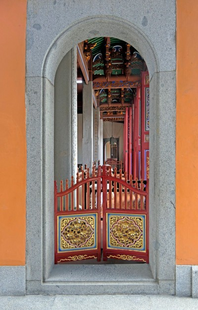 Temple Side Entrance