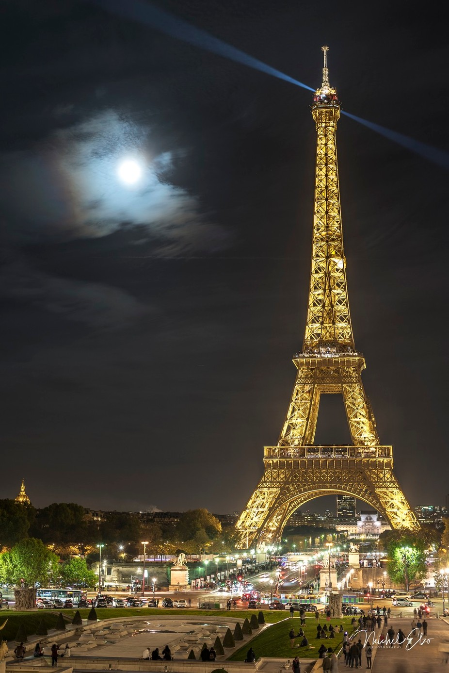 The beauty of Paris at night by Elzo78 - Paris Photo Contest