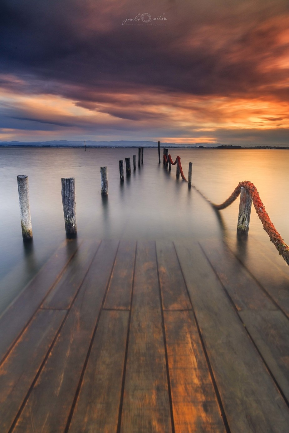 Old Pier, Ria de aveiro by pauloprinter - Composition And Leading Lines Photo Contest