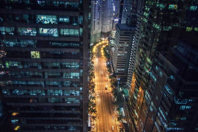 City by night by RTDPhotos - Rooftops Photo Contest 2018