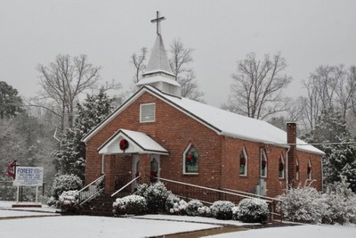 Forest United Methodist Church, Pickens County, AL