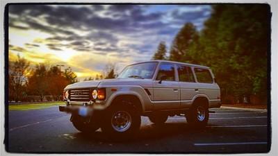 #toyota#landcruiser#fj60#sunset#cloudy#beautiful#edmonds#washington#pnw#colorfulsky