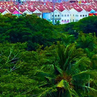 Colorful Malacca, Malaysia!