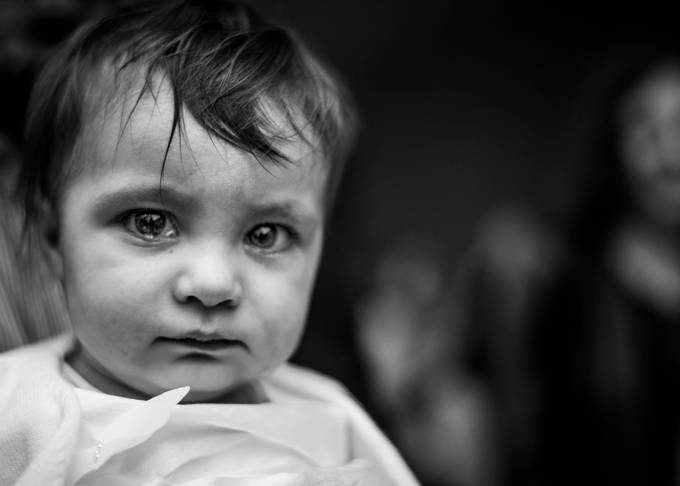 Big eyes. by tommycimarelli - Anything Babies Photo Contest