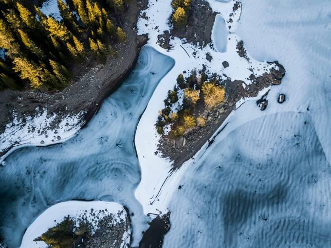 Frozen Silver Lake by JonByronV - Celebrating Earth Day Photo Contest 2019