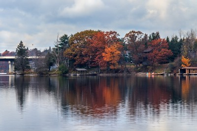Reflection of autumn.