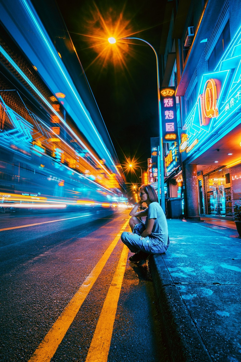 Speed by klepikovadaria - People At Night Photo Contest