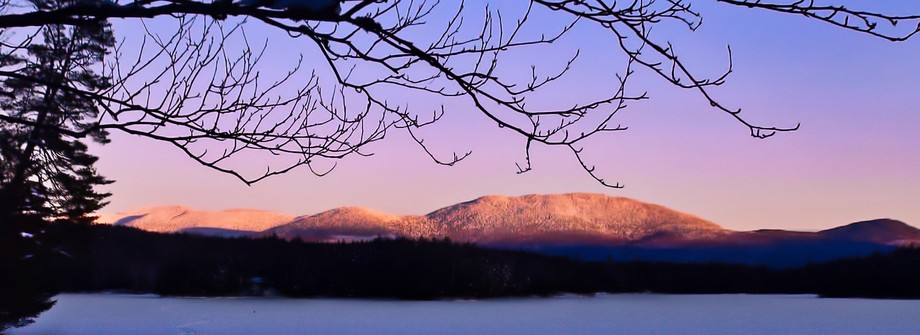 I could watch those mountains forever as they gradually change color with the setting sun. I thin...
