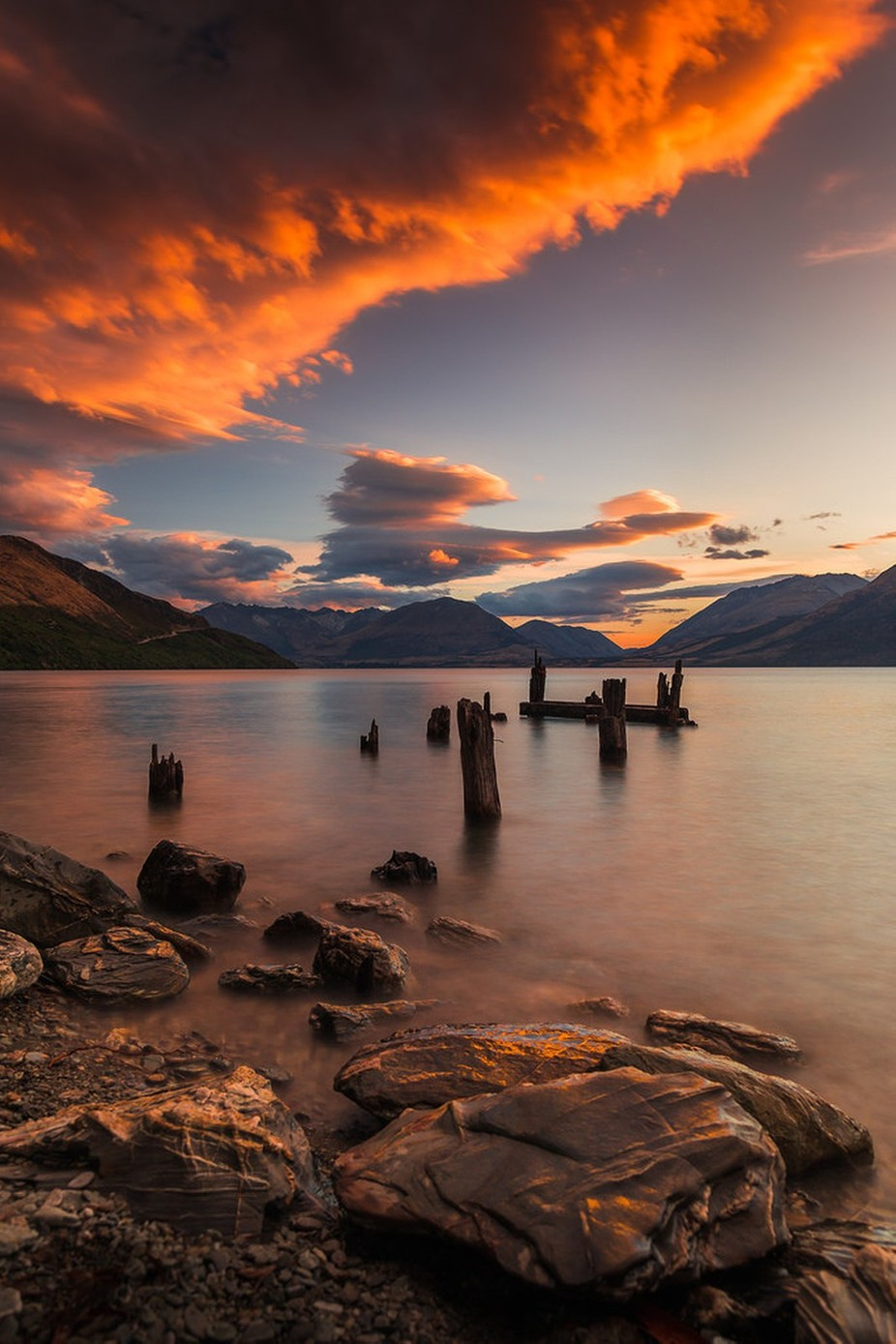 Last light at Meiklejohns Jetty. by Mike_MacKinven - Pastel Colors Photo Contest