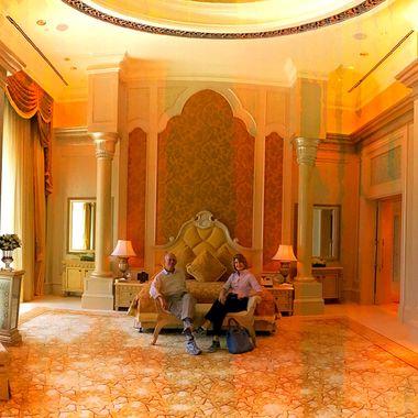 Emirates Palace hotel suite!