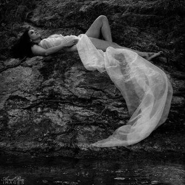 Lisa Ebony at the river