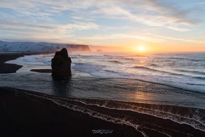 Reynisfjara sunrise