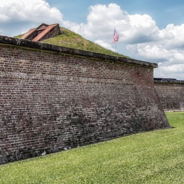 Walls of Fort Moultrie