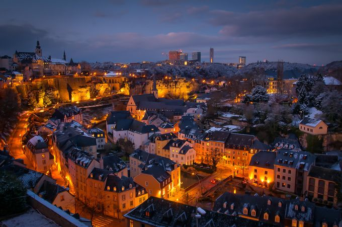 Grund /Old town /Luxembourg City by DraganR - Europe Photo Contest