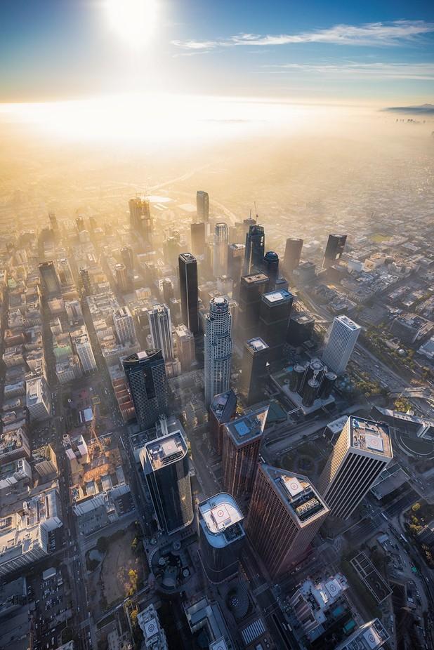 Hazy DTLA by ShabdroPhoto - My City Photo Contest